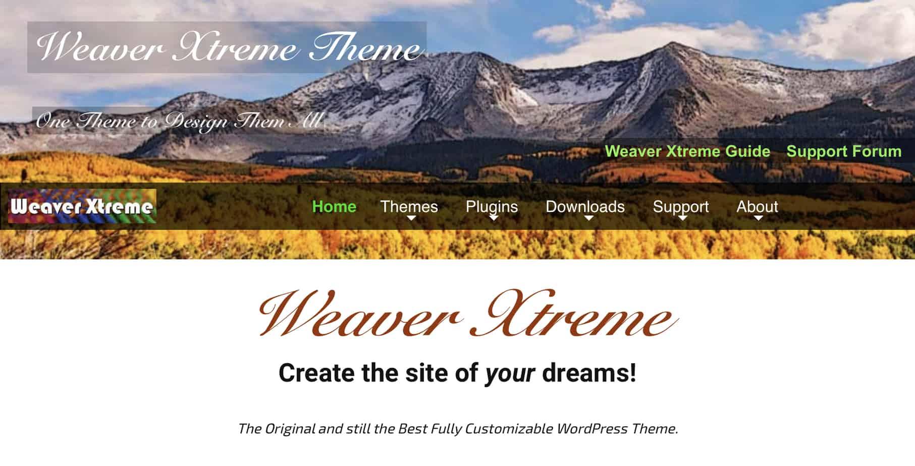The  weaver theme