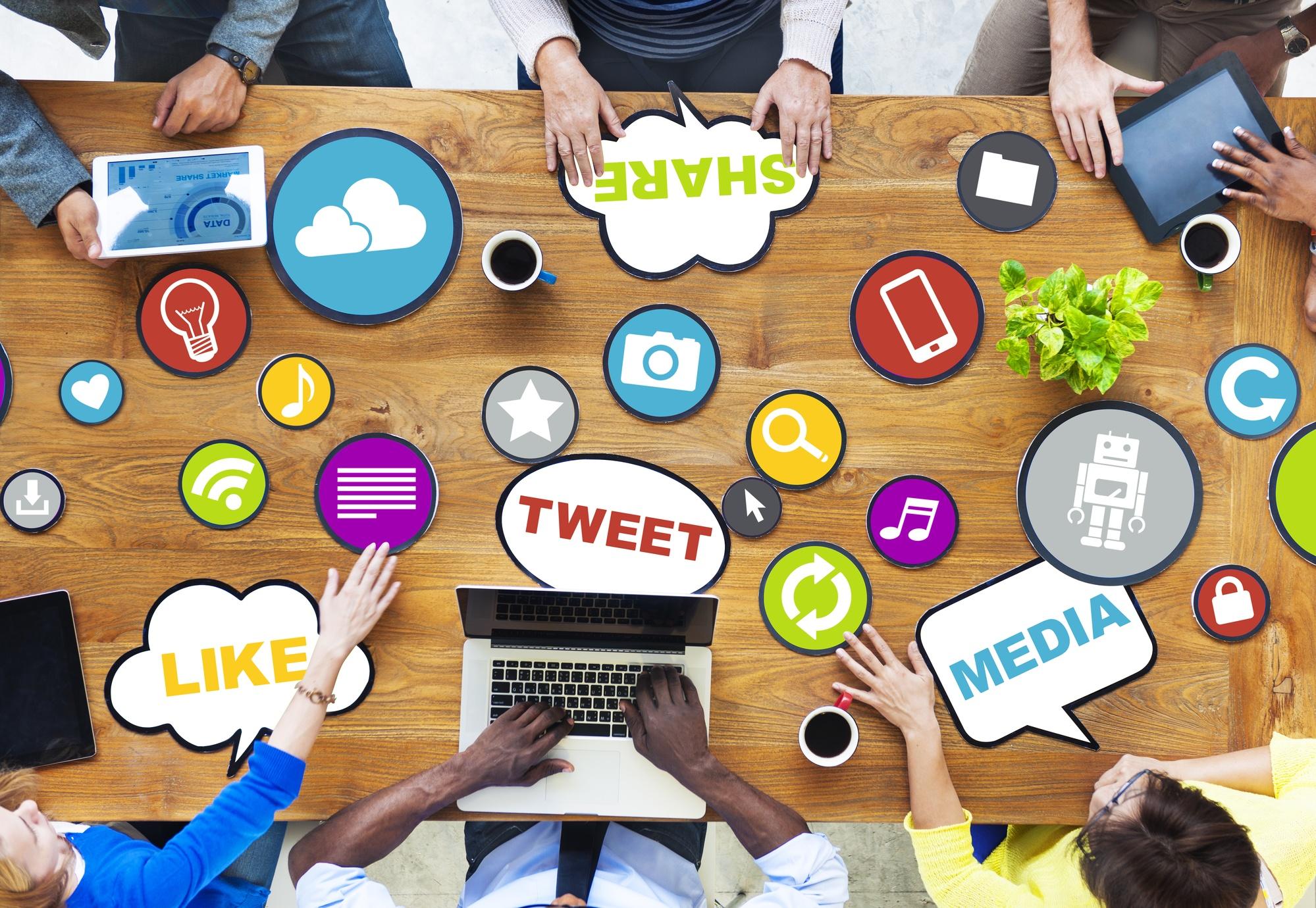 Set up your social media