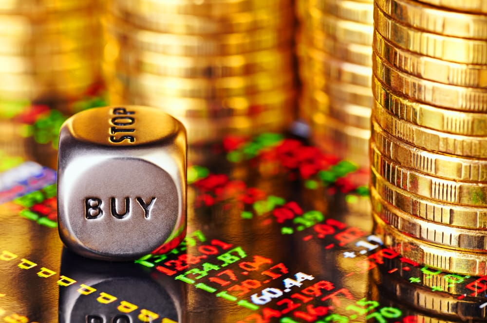 Financial forex chart