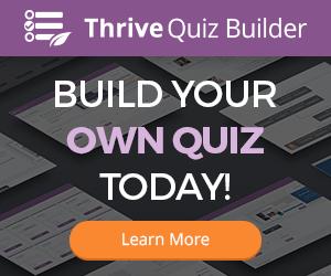 Thrive Quizz Builder